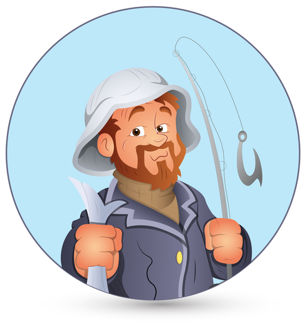 http://www.dreamstime.com/royalty-free-stock-photo-vector-illustration-old-cartoon-fisherman-character-portrait-vector-illustration-image30293655